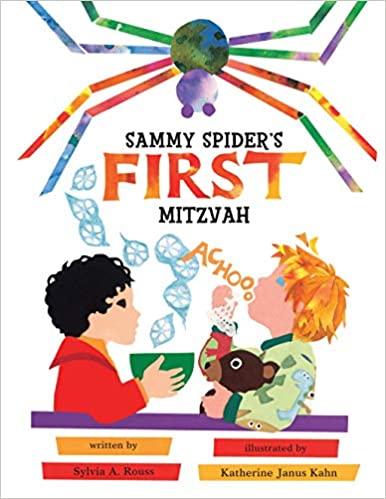 Must-read Jewish book for kids 'Sammy spider's first Mitzvah'