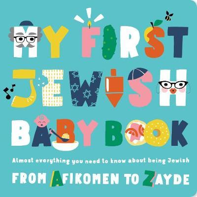 Must-read Jewish book for kids 'My First Jewish Baby Book'